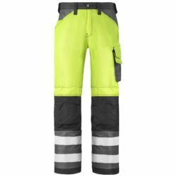 3333 High-Vis Trousers Without Holster Pockets, Class 2