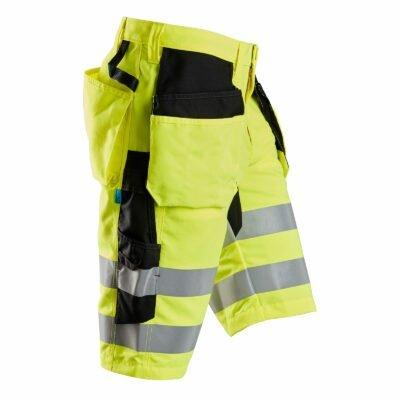 6131 LiteWork, High-Vis Shorts+ Holster Pockets, Class 1