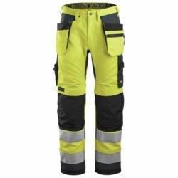 6230 AllroundWork, High-Vis Work Trousers+ Holster Pockets, Class 2