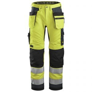 6230 AllroundWork, High-Vis Work Trousers+ Holster Pockets, Class 2