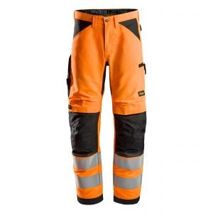 6332 LiteWork, High-Vis Work Trousers+, Class 2
