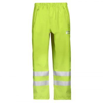 8243 High-Vis PU Rain Trousers, Class 2