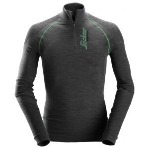 9441 FlexiWork, Seamless Wool LS HZ Shirt