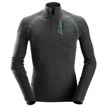 9441 FlexiWork, Seamless Wool LS HZ Shirt