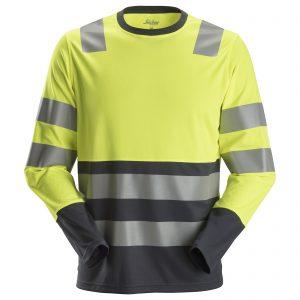 2433 AllroundWork, High-Vis LS T-Shirt, Class 2
