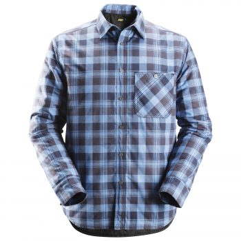8501 RuffWork, Padded Flannel Checked LS Shirt