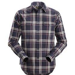 8502 RuffWork, Flannel Checked LS Shirt